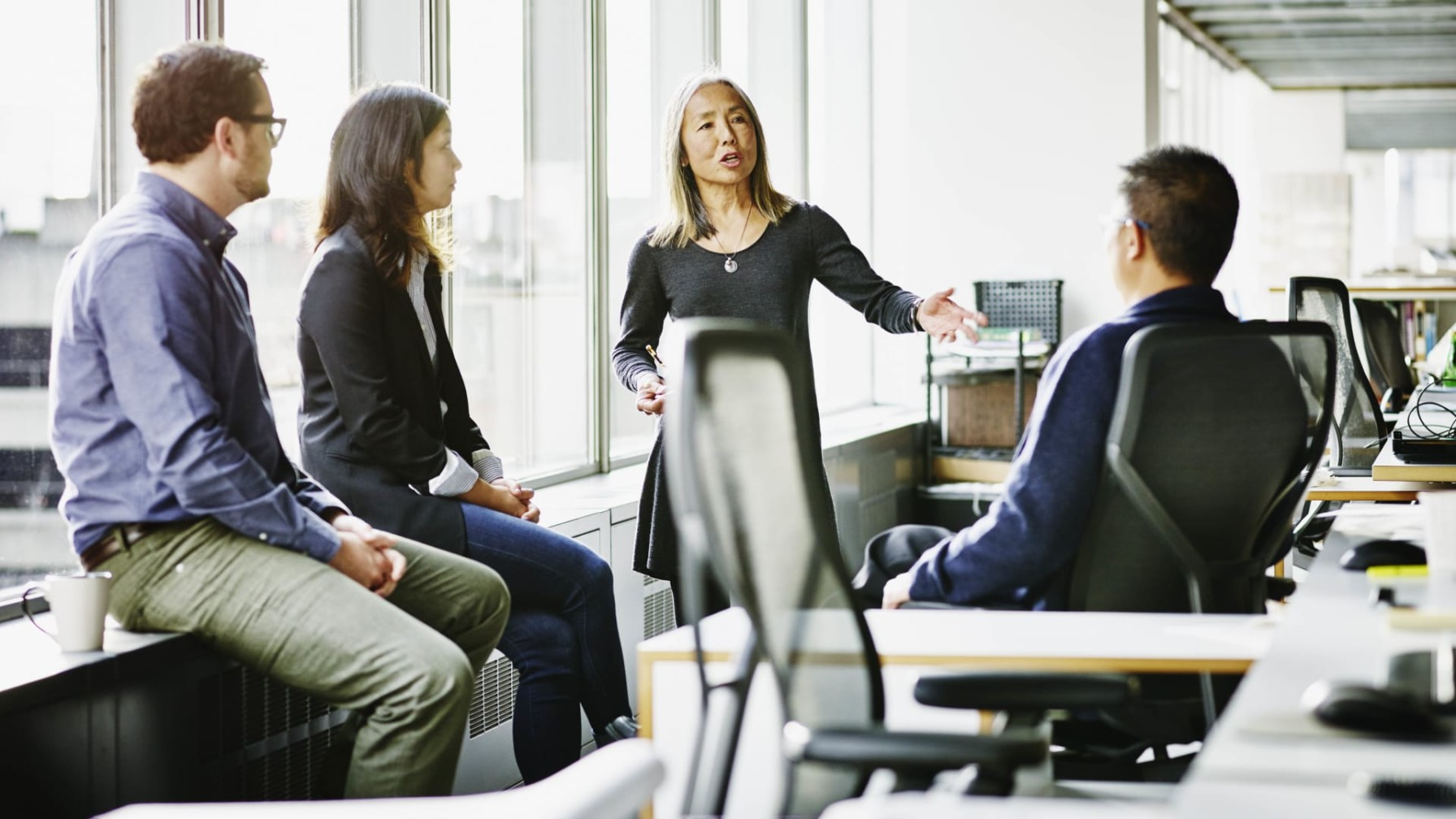 Leader working to reduce employee anxiety