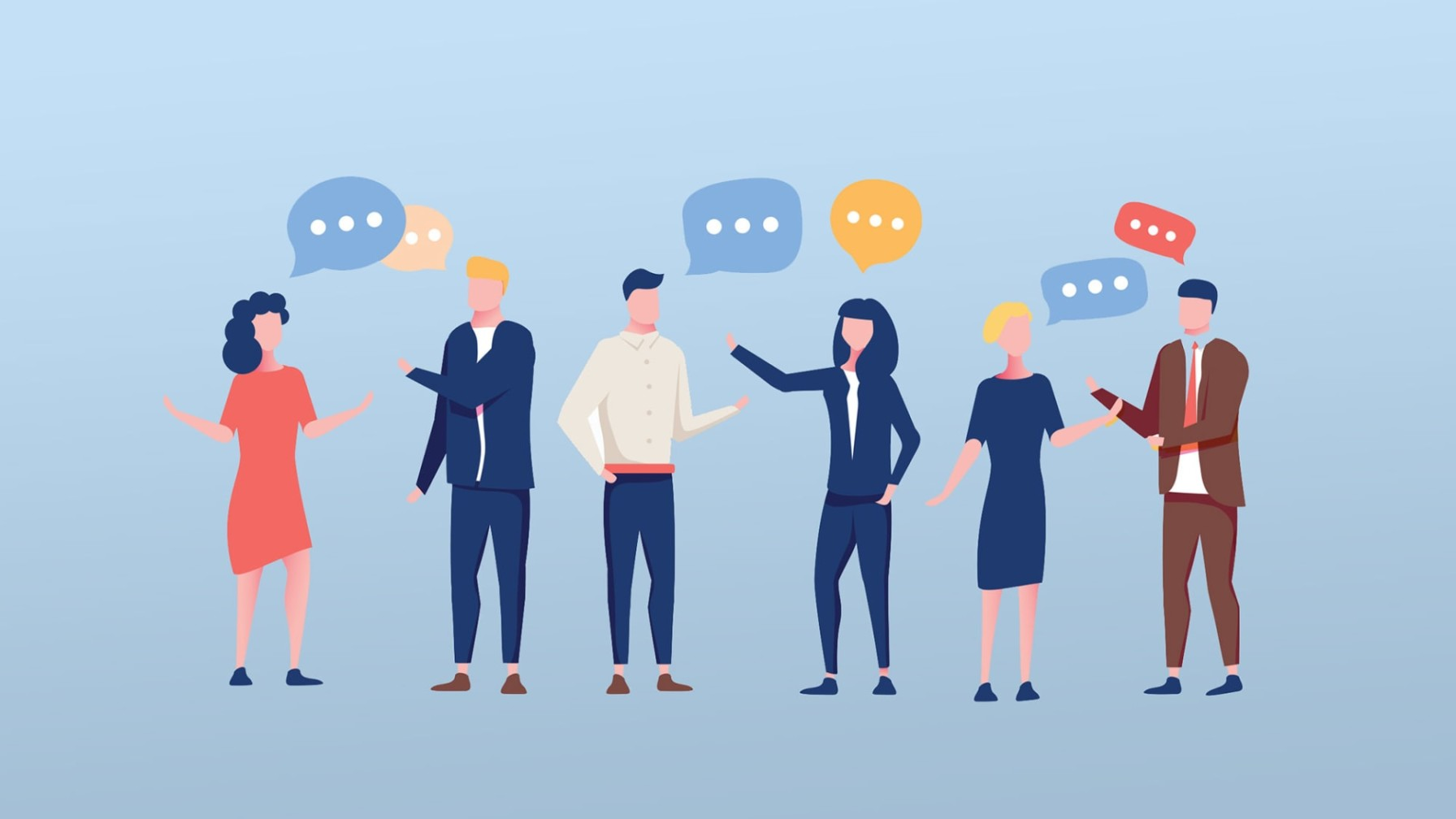 Leaders networking