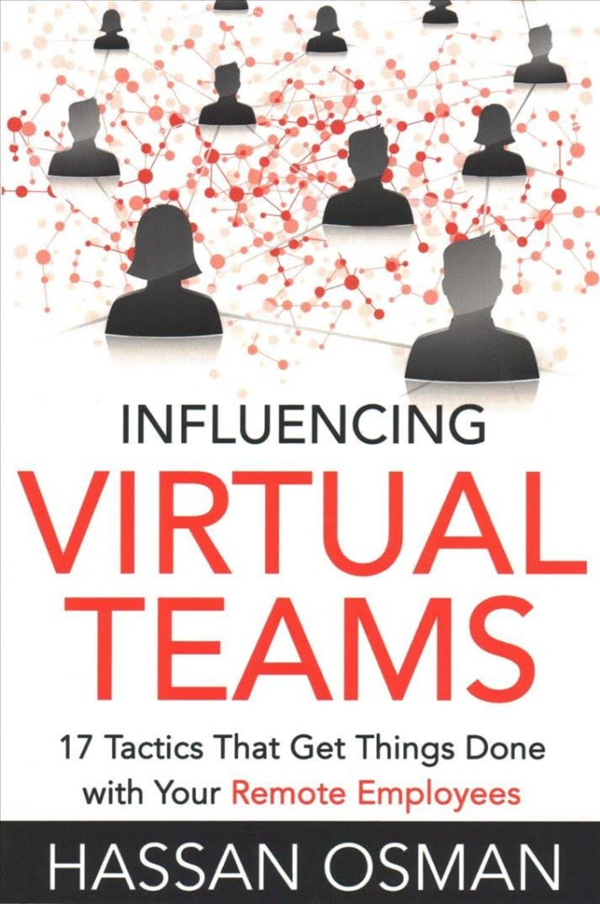 Book cover for Influencing Virtual Teams by Hassan Osman